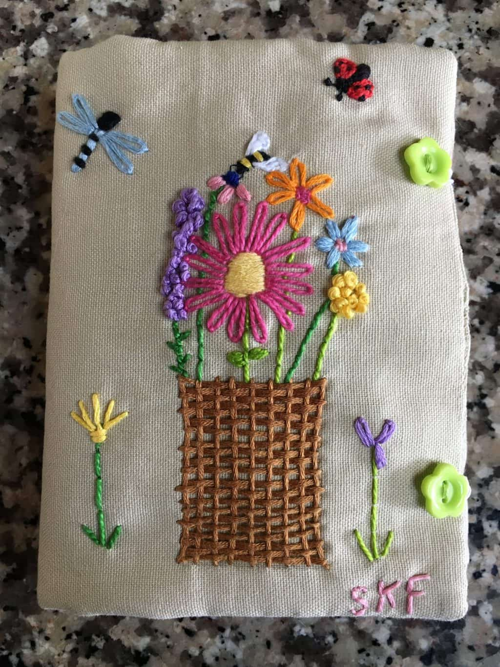 How to Make a Needle Book with an Embroidered Cover