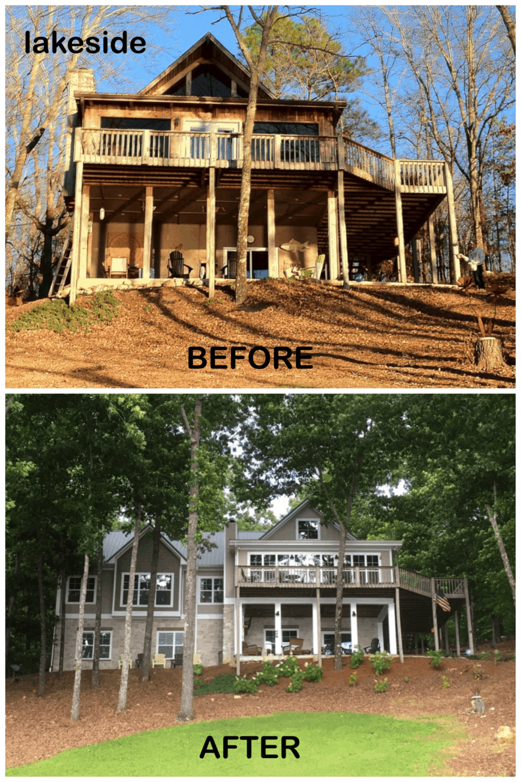 Lake House Renovation (short version with links)