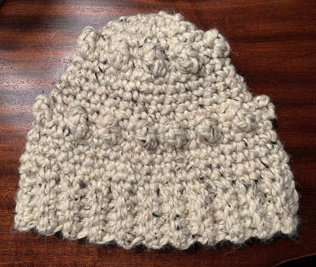 How to Crochet a Textured Hat