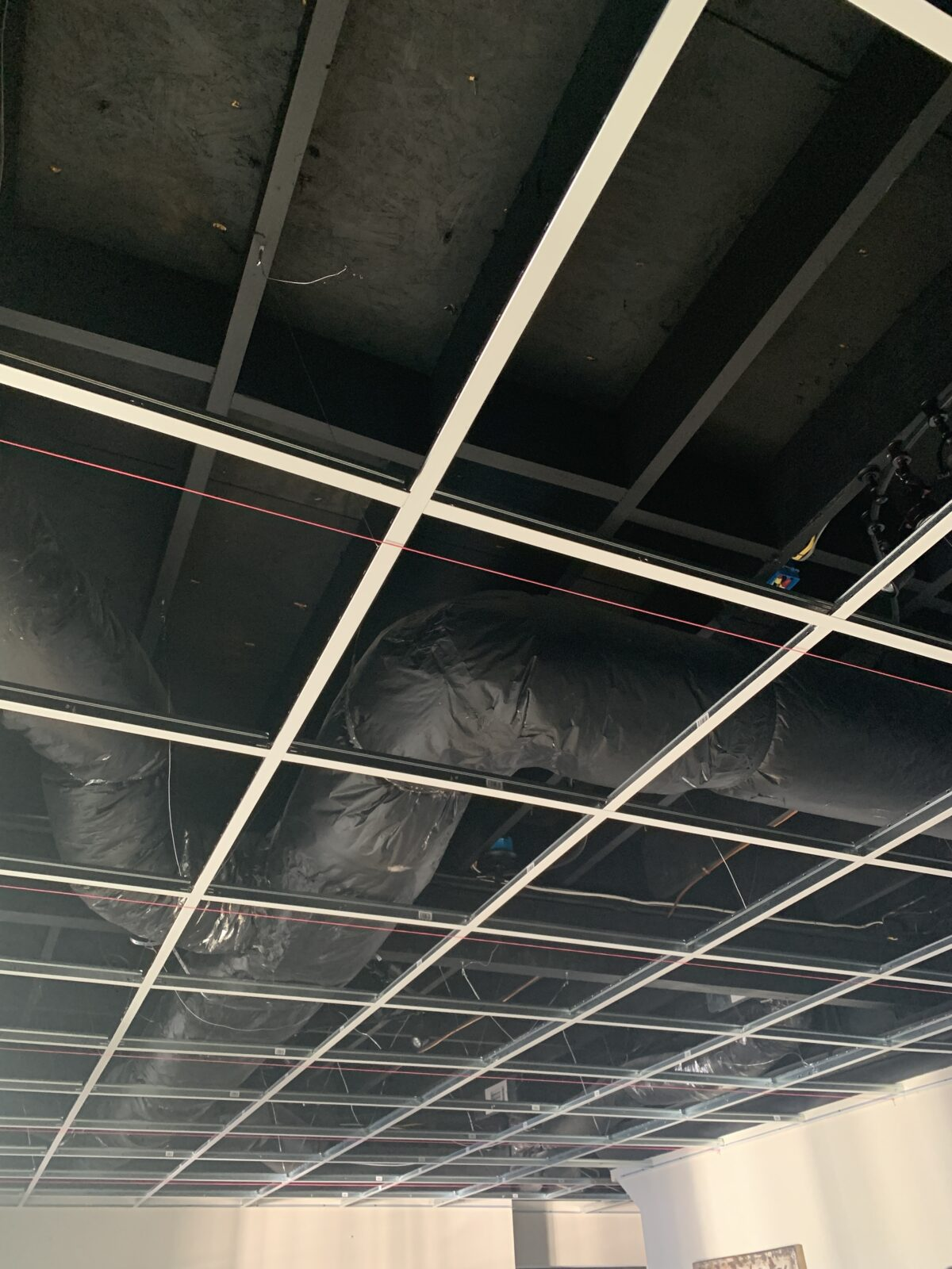 How to Install a Drop Ceiling Grid System