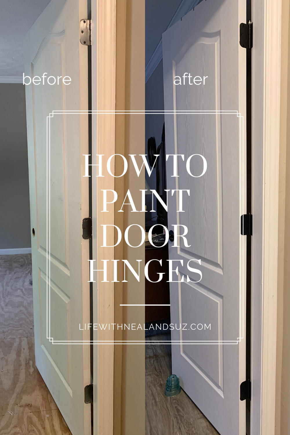 How to Paint Door Hinges