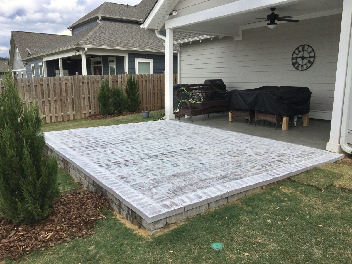 How to Build a Brick Paver Patio